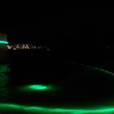 Sulla Laguna di Orbetello per tutto il mese di Agosto si potranno vedere i giochi di luce creati da Mario Airo'. Proprio accanto al suggestivo mulino nella laguna si alternano forme sull'acqua come a definire nuovi spazi e insiemi che si intersecano. Molto suggestivo, il verde smeraldo del Mondo di Oz.