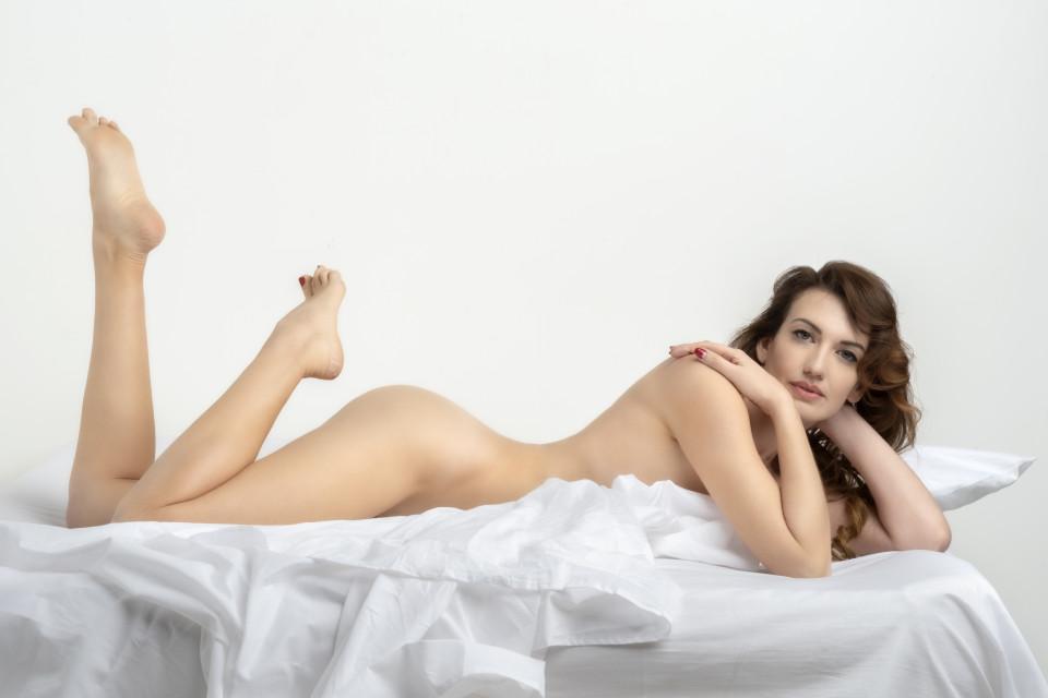 Giulia di Quilio lenzuola bianche